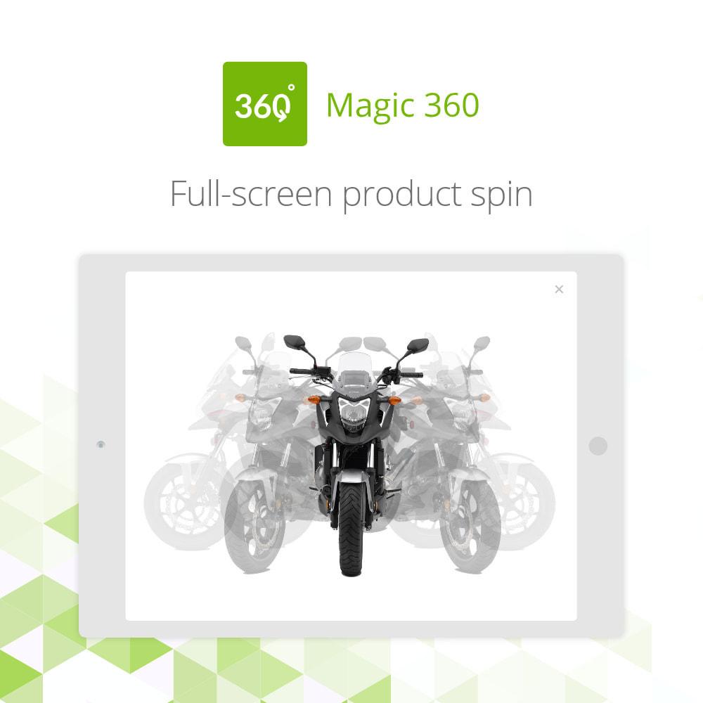 module - Visuels des produits - Magic 360 spin - 3