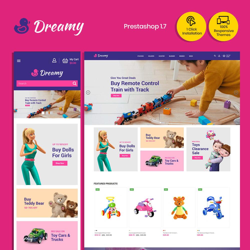 theme - Enfants & Jouets - Dreamy Kids - Magasin de jeux de jouets - 3