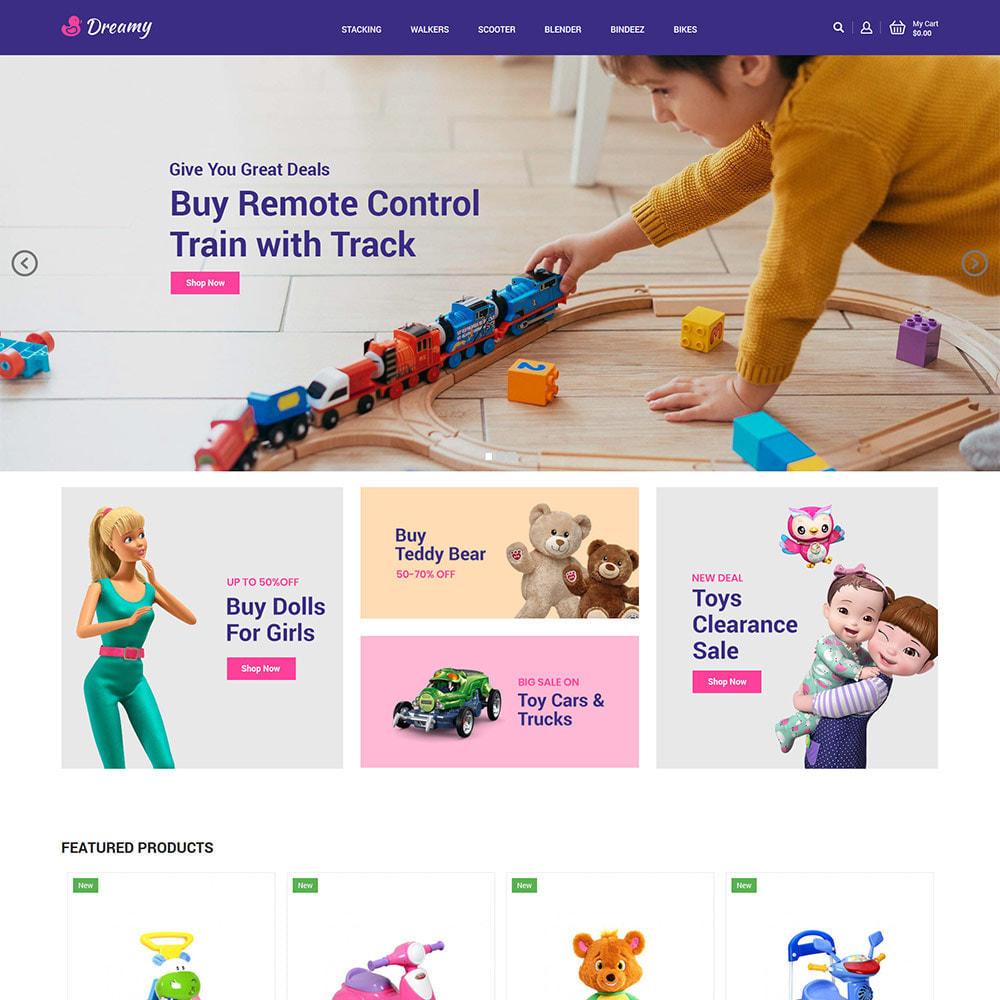 theme - Zabawki & Artykuły dziecięce - Dreamy Kids - Toys Game Store - 3