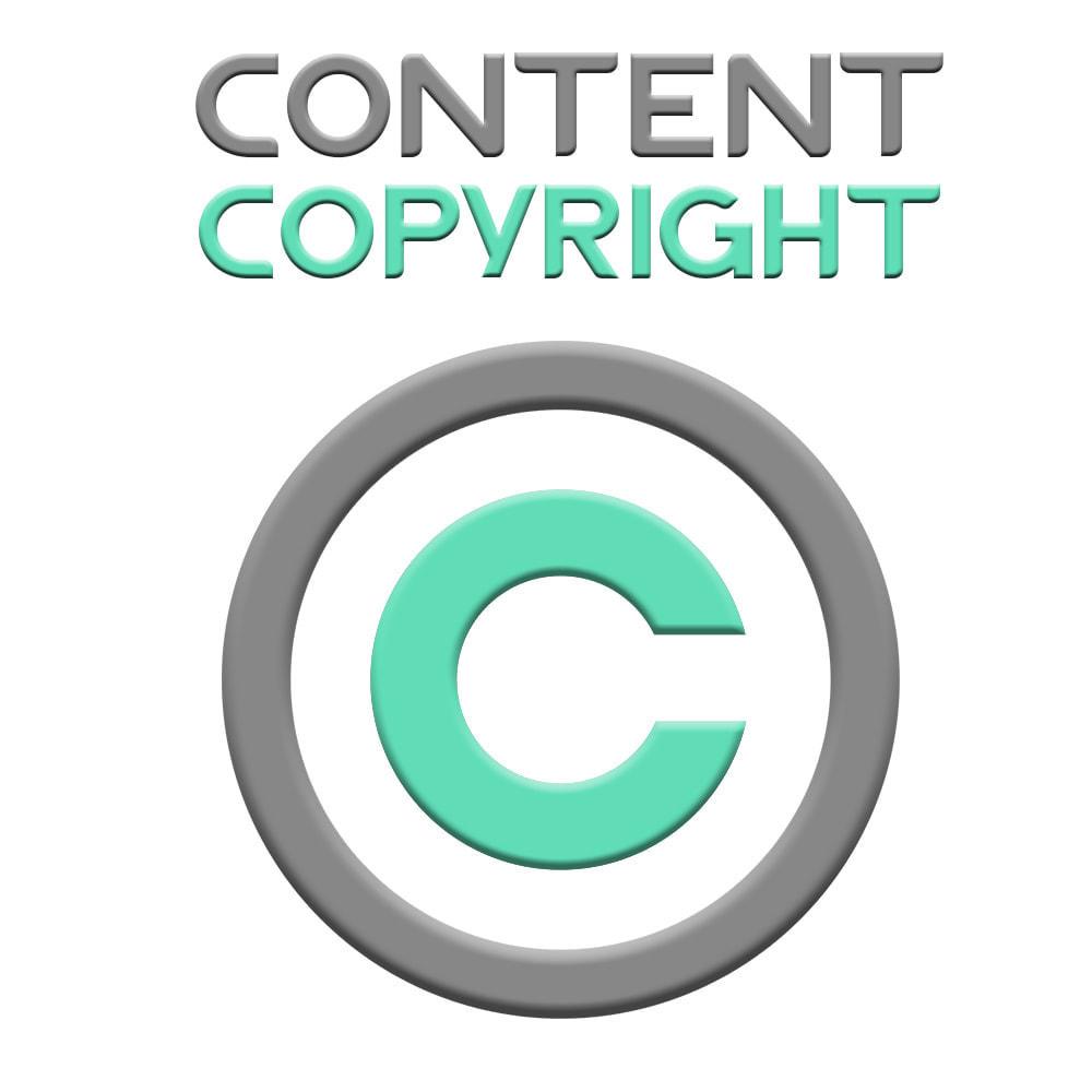 module - Blog, Forum & Actualités - Content Copyright - 1