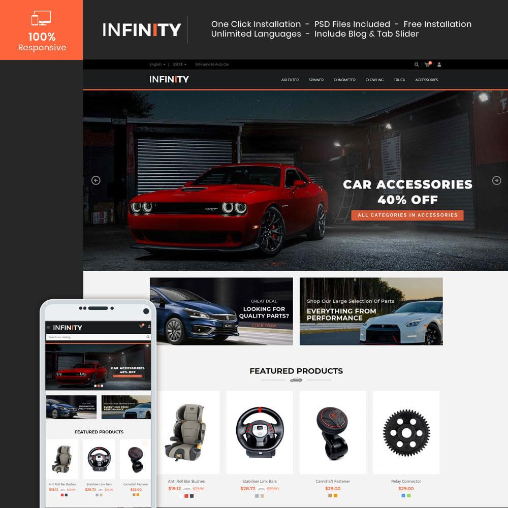 theme - Auto & Moto - Infinity Garden Tool  - Auto Car Store - 1