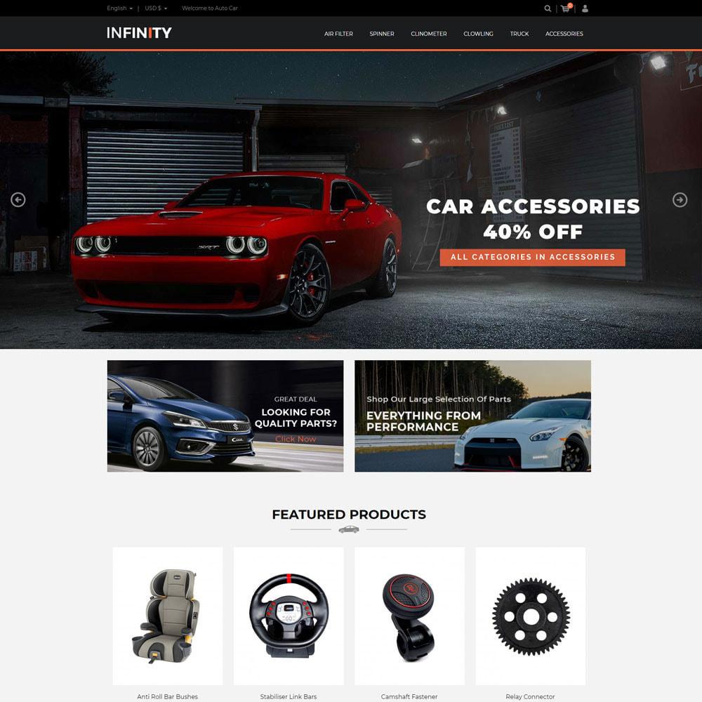 theme - Auto & Moto - Infinity Garden Tool  - Auto Car Store - 3