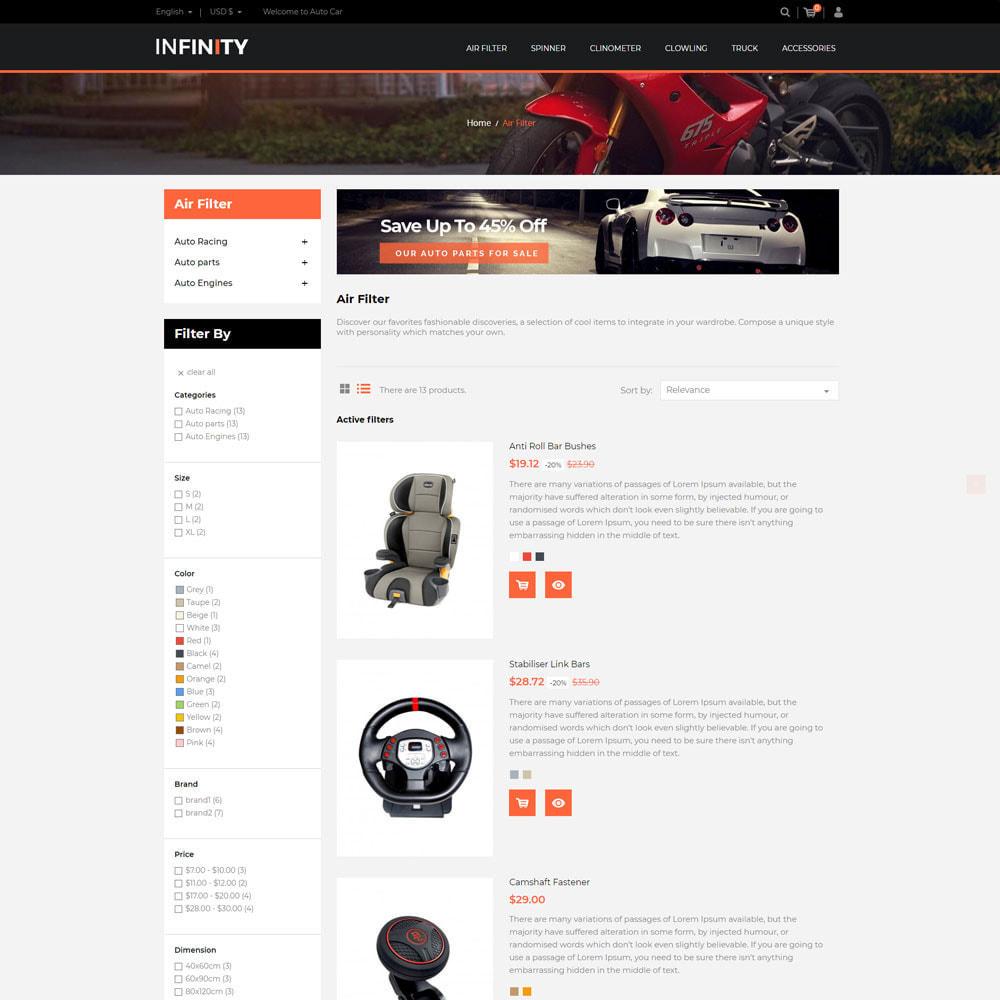 theme - Auto & Moto - Infinity Garden Tool  - Auto Car Store - 4