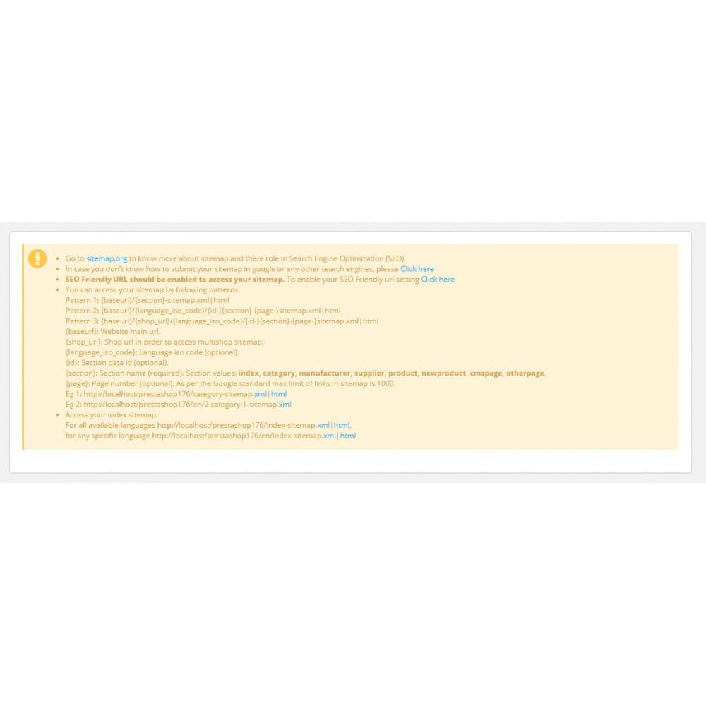 module - SEO (référencement naturel) - Advance Google SEO (XML & HTML) Sitemap Generator - 15