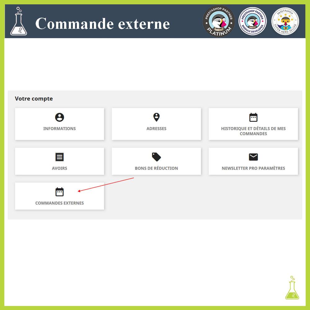 module - Gestion des Commandes - Importer des commandes externes - 12