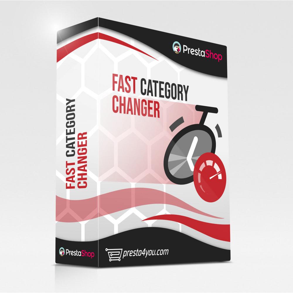 module - Szybkie & Masowe edytowanie - Szybka zmiana kategorii / masowa edycja kategorii - 1