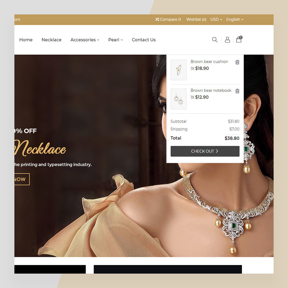 theme - Sieraden & Accessoires - Emerald Jewelry - Jewellery & Accessories Template - 5