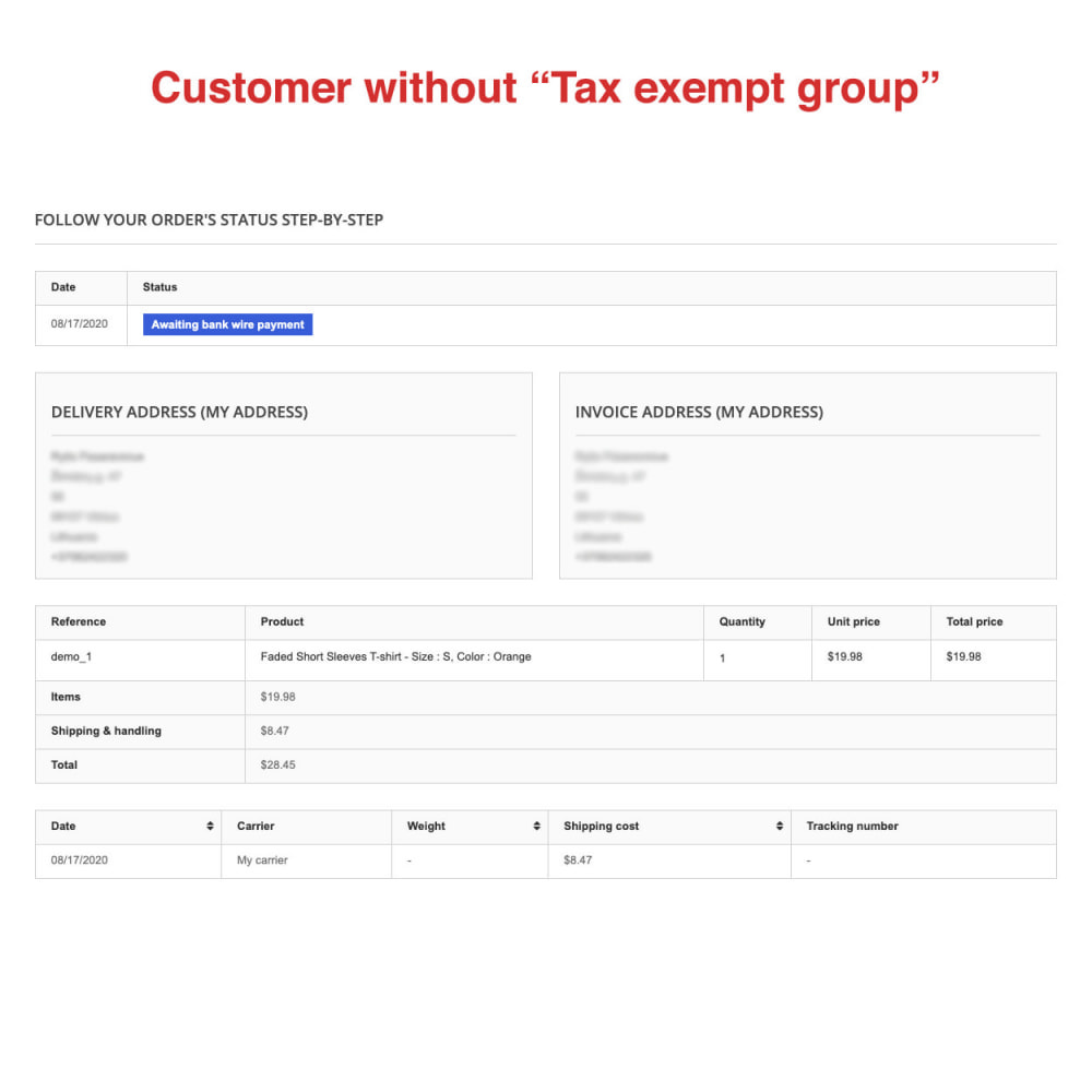 module - Boekhouding en fakturatie - Tax Exempt Group - 13