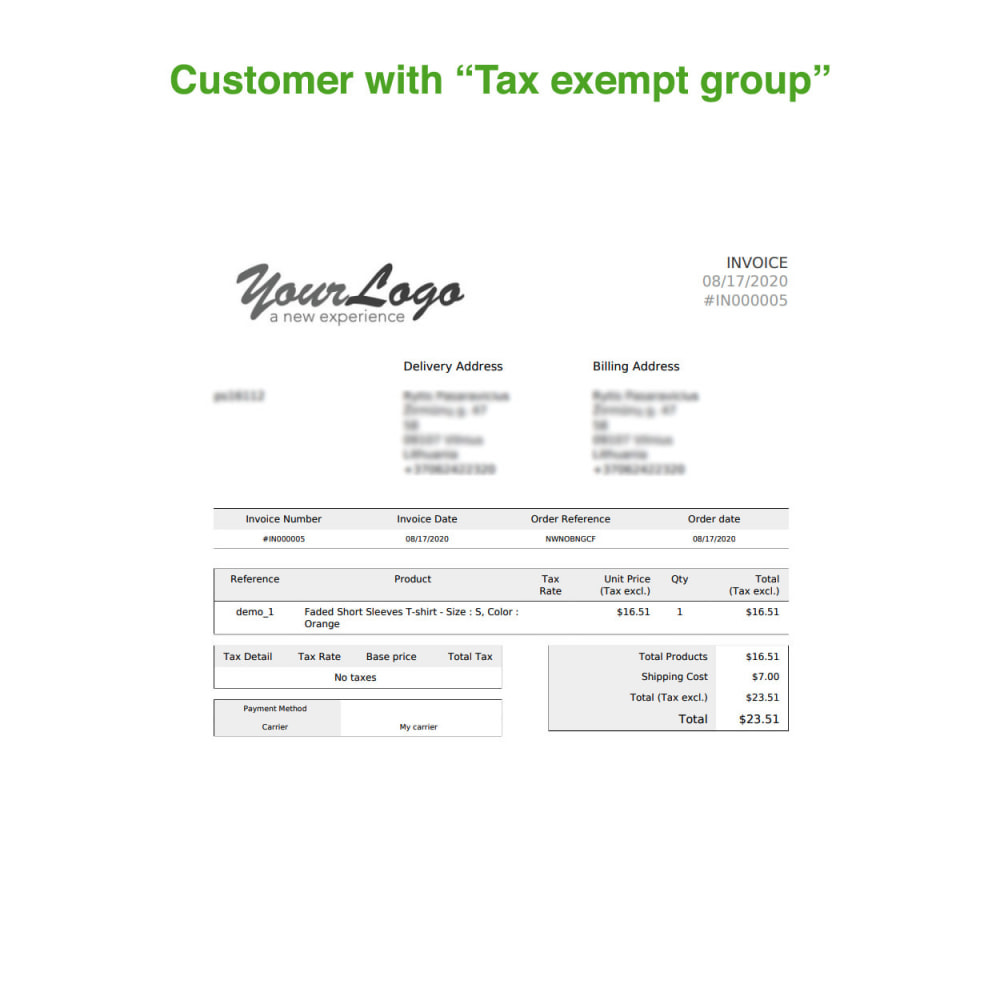 module - Boekhouding en fakturatie - Tax Exempt Group - 16