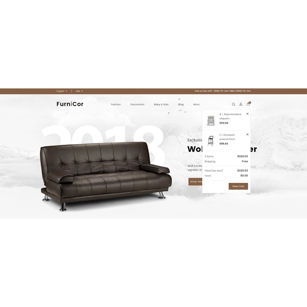theme - Home & Garden - Furnicor - Furniture Store - 8
