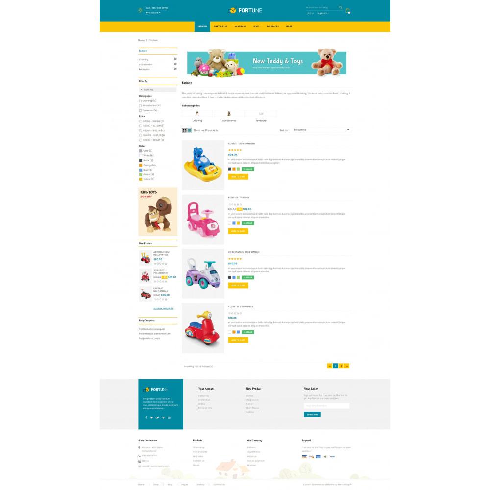 theme - Дети и Игрушки - Fortune - Kids Store - 4