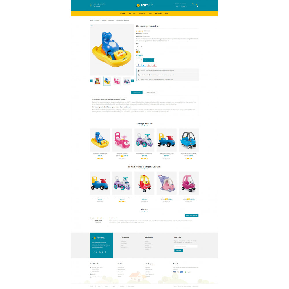 theme - Kids & Toys - Fortune - Kids Store - 5