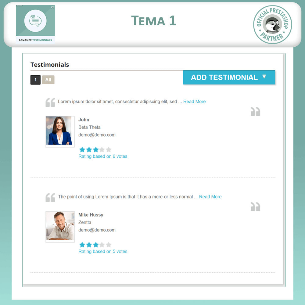 module - Recensioni clienti - Testimonianze anticipate - Recensioni Dei Clienti - 2