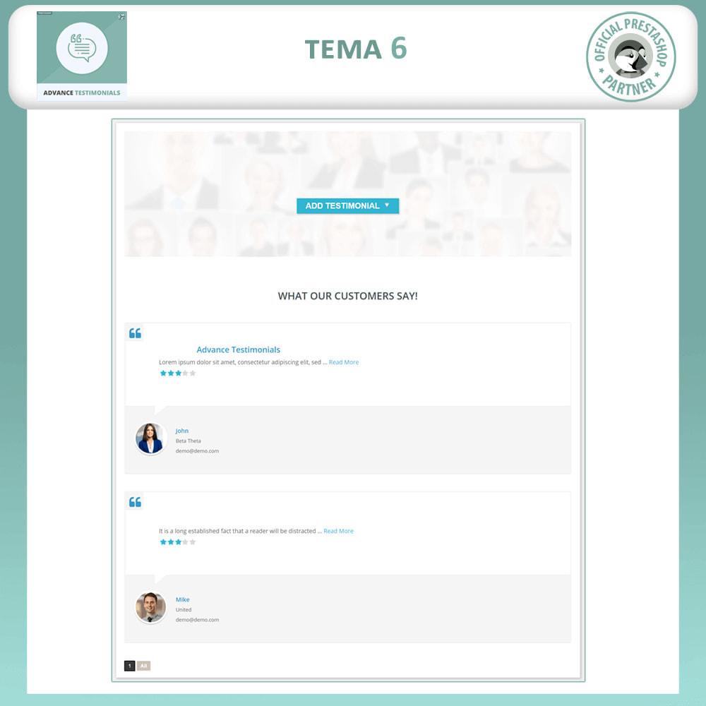 module - Comentarios de clientes - Testimonios anticipados - Reseñas de Clientes - 7
