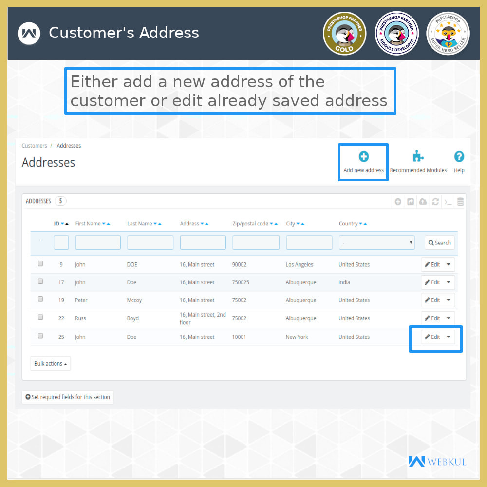 module - International & Localization - Auto-fill Address Form | Google Addresses - 14