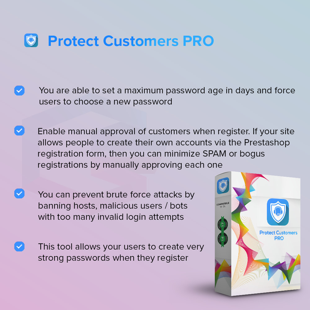 module - Security & Access - Protect Customers PRO - 1