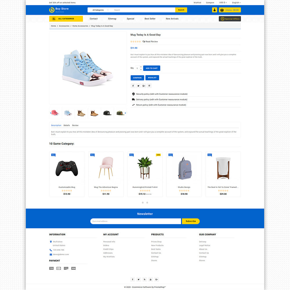 theme - Elektronik & High Tech - BuyStore - Multipurpose E-commerce Store - 3