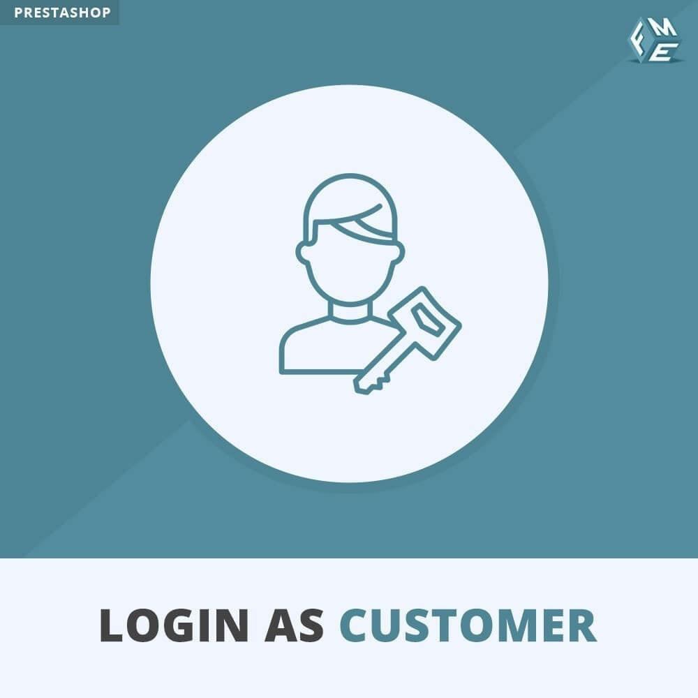 module - Servicio posventa - Iniciar sesión como cliente - 1