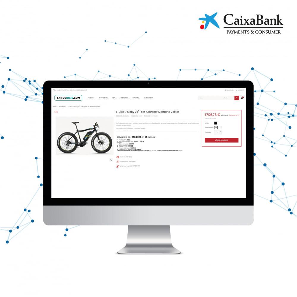 module - Альтернативных способов оплаты - CaixaBank Payments & Consumer online financing - 1