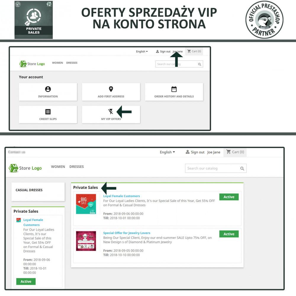 module - Sprzedaż Flash & Sprzedaż Private - Prywatna wyprzedaże dla klientów w grupach VIP - 4