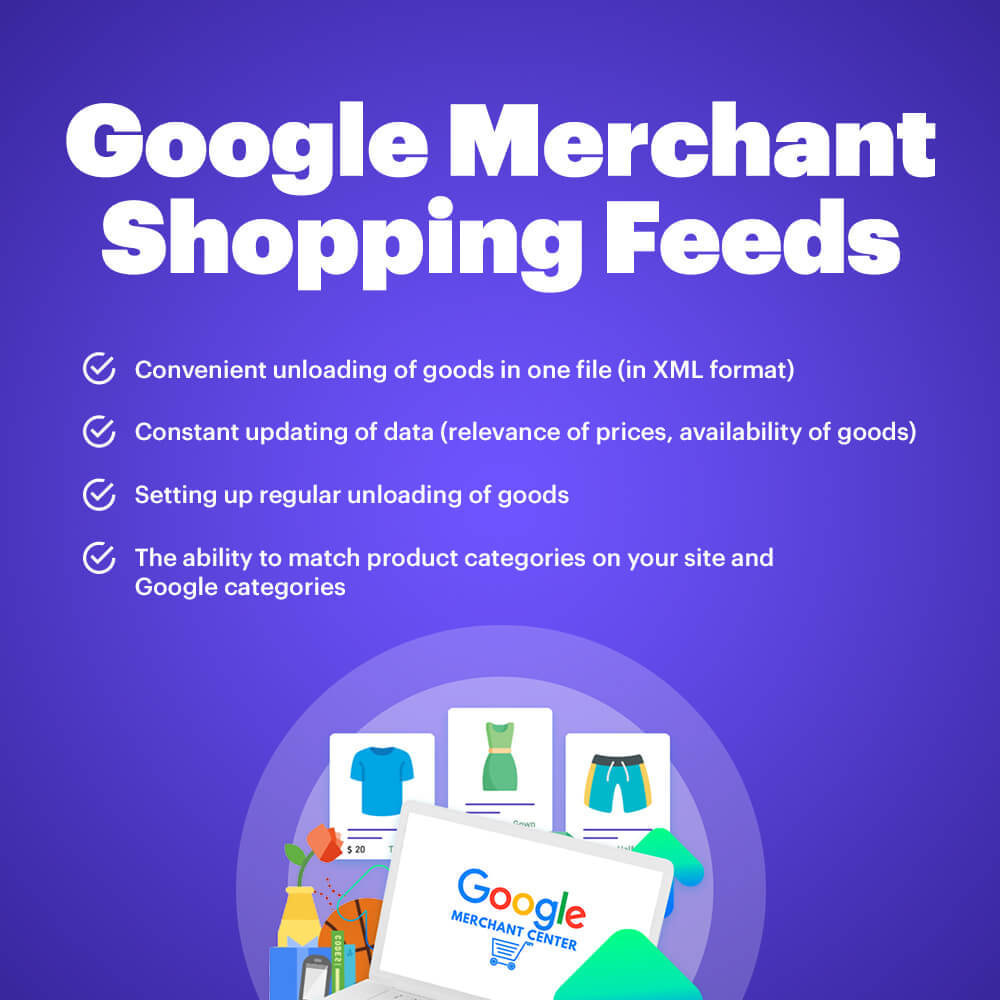 module - Marketplaces - Shopping Feed (Google Merchant Center) for Dynamic Ads - 1