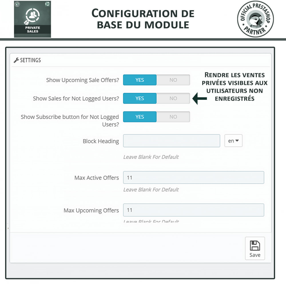 module - Ventes Flash & Ventes Privées - Catégorie privée, vente pour groupes de clients VIP - 9