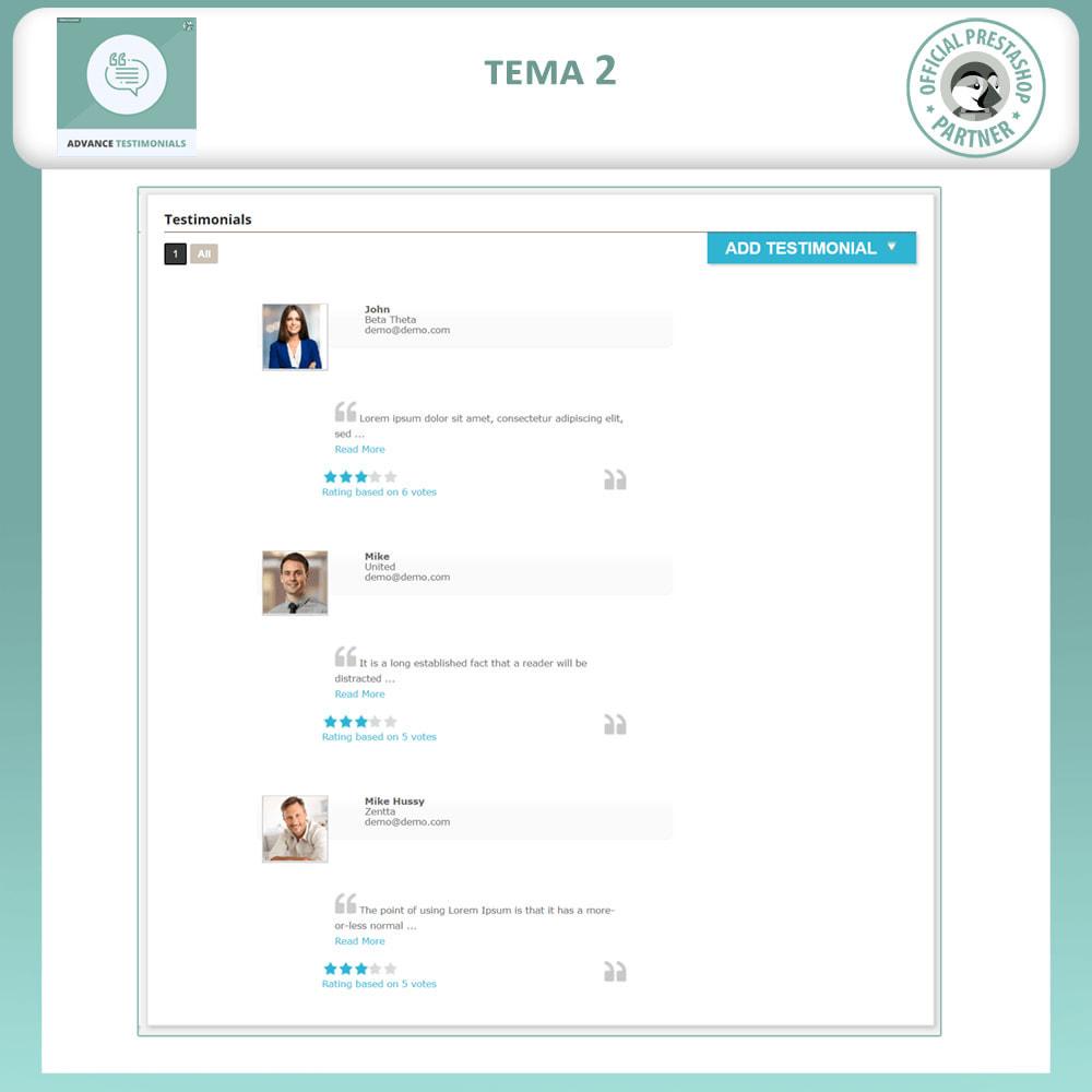 module - Отзывы клиентов - Продвинутый Отзывы - Отзывы клиентов с изображениями - 3