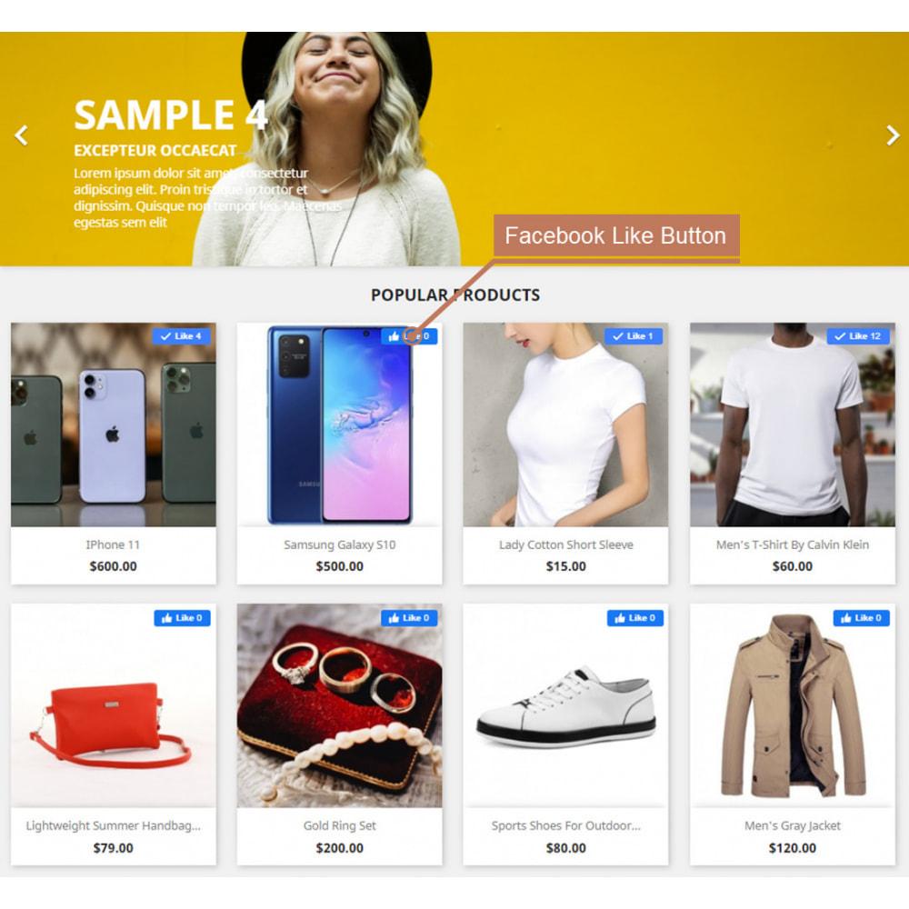 module - Deelknoppen & Commentaren - The Social Integration - Shop Tab, Comments, Login - 2