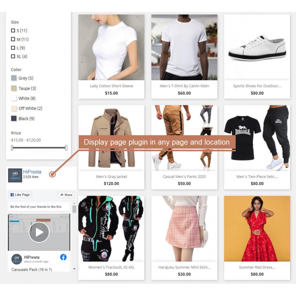 module - Deelknoppen & Commentaren - The Social Integration - Shop Tab, Comments, Login - 5