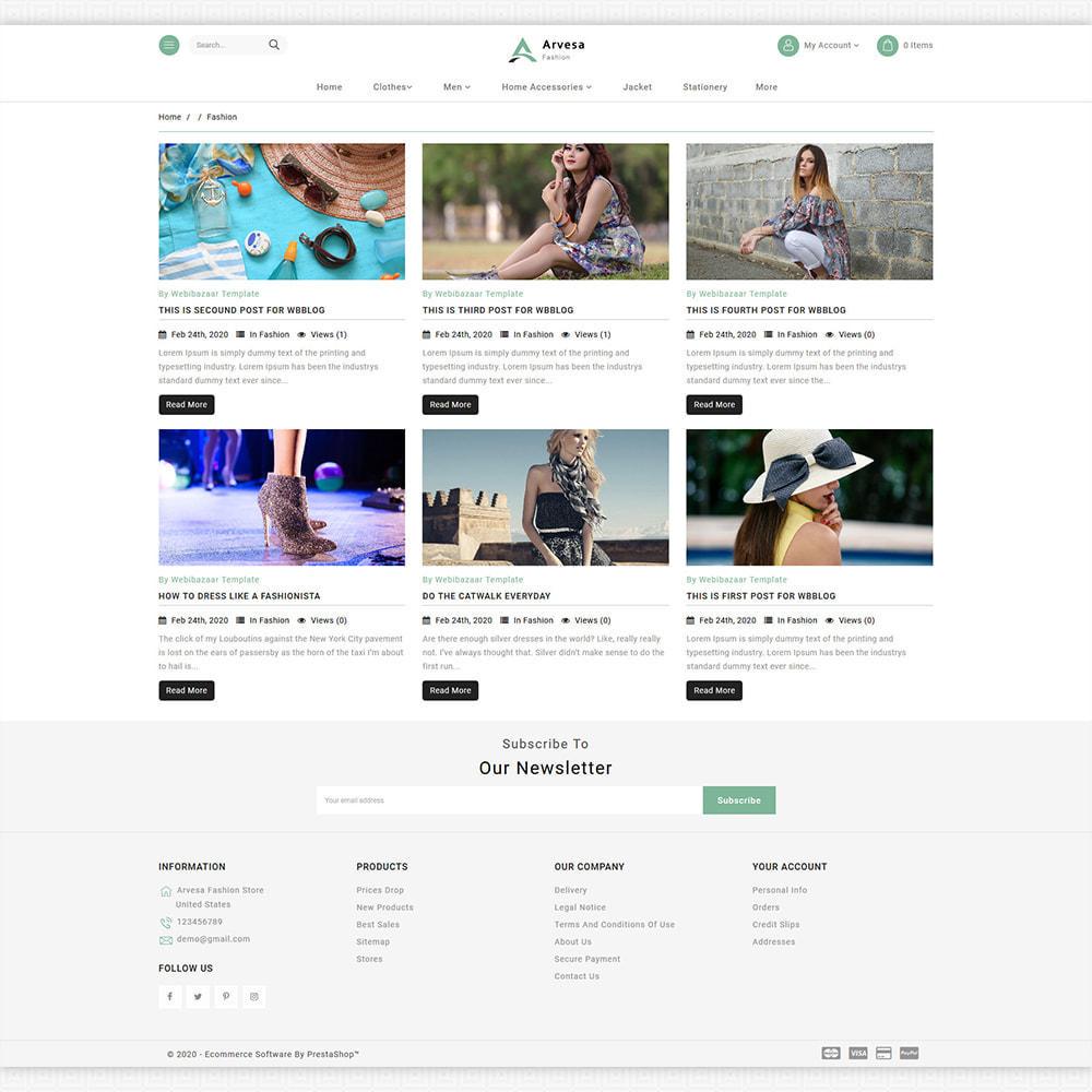 theme - Mode & Schuhe - Arvesa - Modern Fashion Store - 6