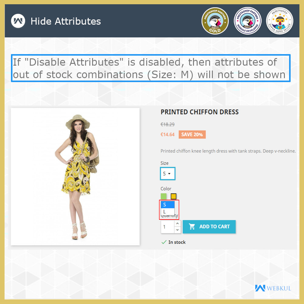 module - Combinations & Product Customization - Hide or Disable Attributes With Stock - 4