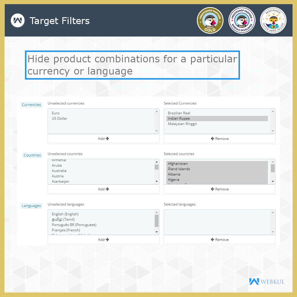 module - Combinations & Product Customization - Hide or Disable Attributes With Stock - 11