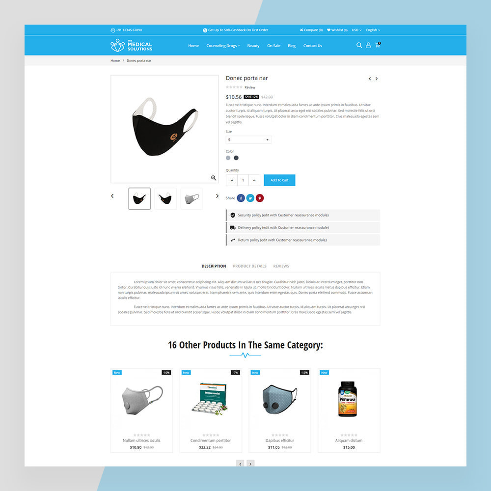 theme - Zdrowie & Uroda - Medical Solutions - Medical and Medicine Store Template - 7