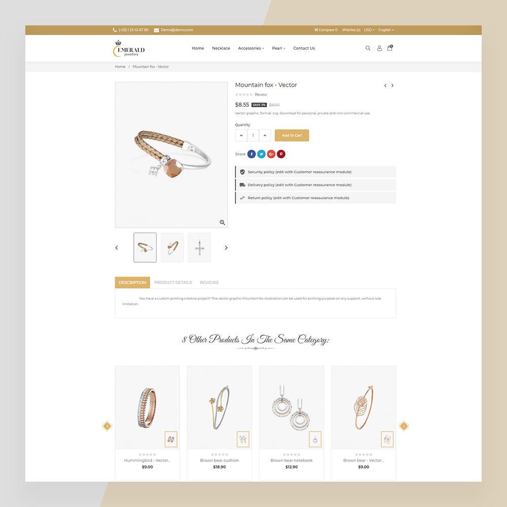 theme - Bellezza & Gioielli - Emerald Jewelry - Jewellery & Accessories Template - 14