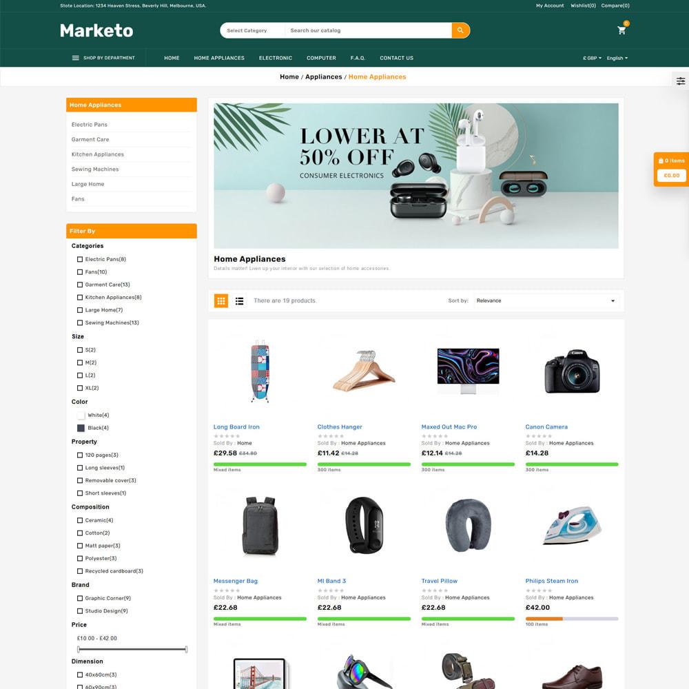 theme - Electrónica e High Tech - Marketo Mega Store - 3