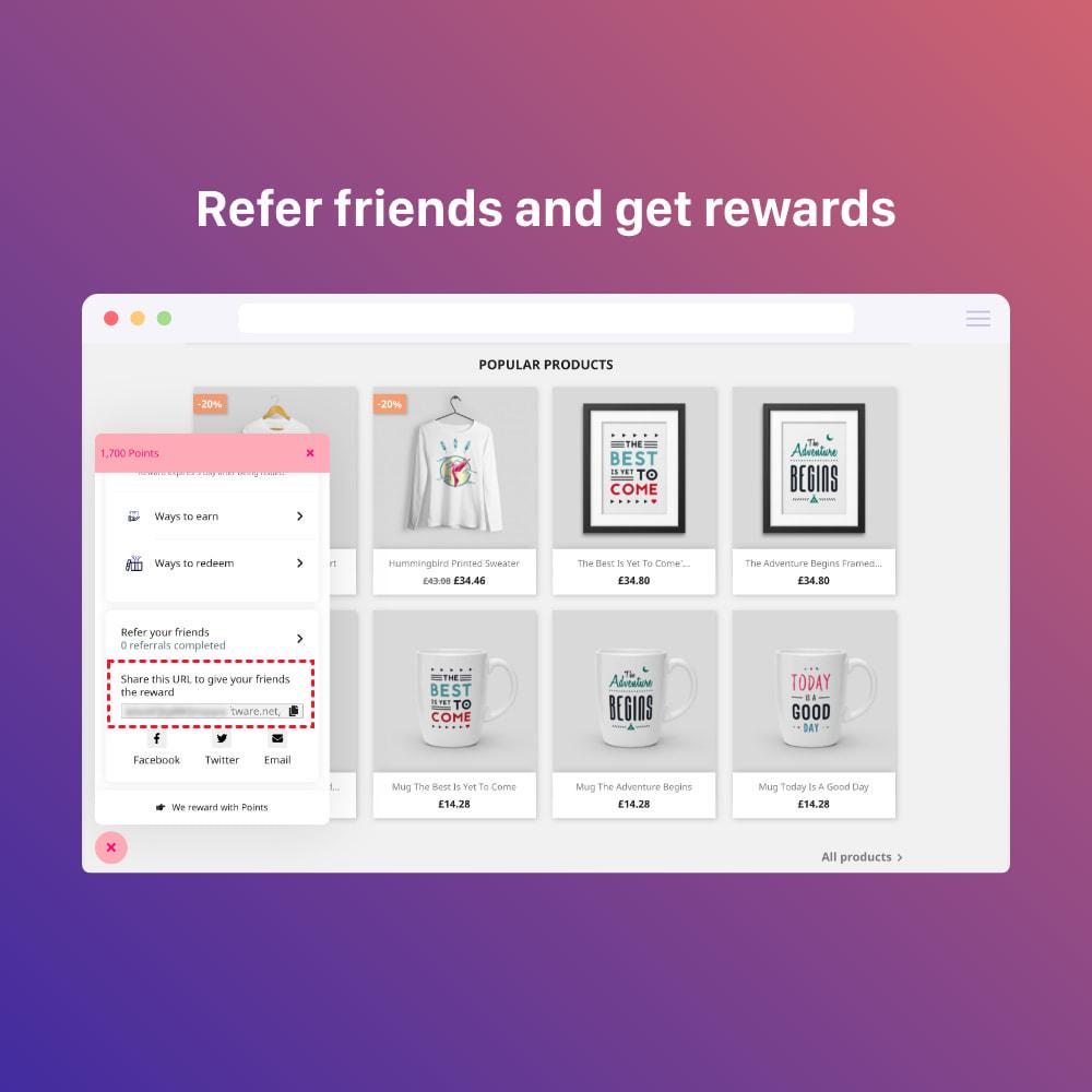 module - Programmi fedeltà & Affiliazione - 3in1 Reward point: loyalty, referral, affiliate program - 15