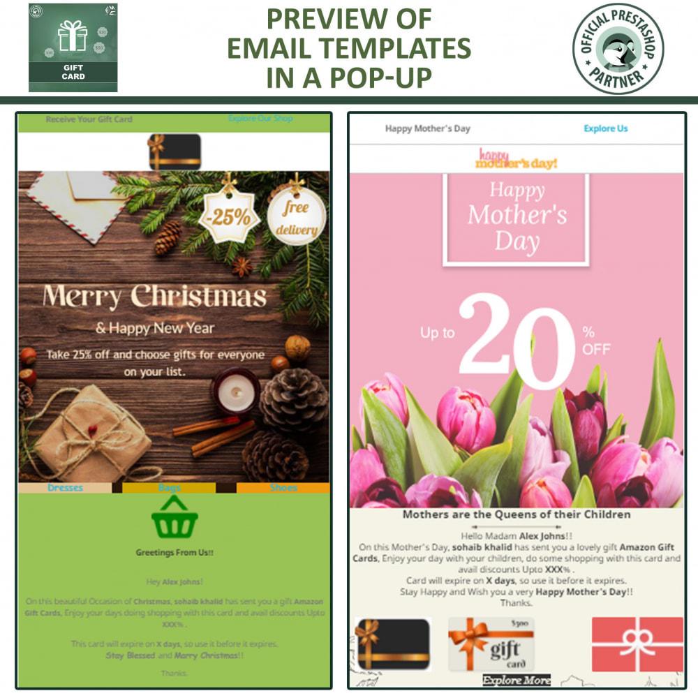 module - Lista de desejos & Vale-presente - Gift Card Module - Gift Certificates & Vouchers - 6