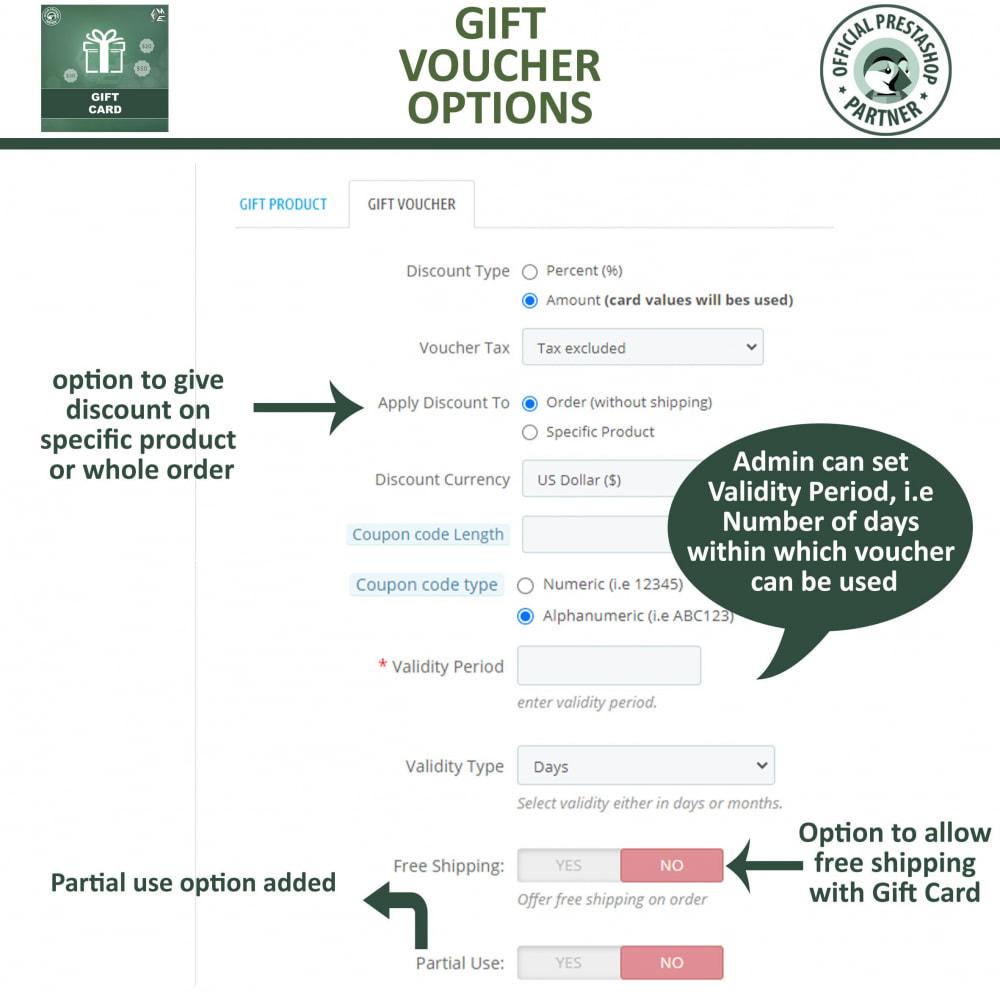 module - Lista de desejos & Vale-presente - Gift Card Module - Gift Certificates & Vouchers - 13