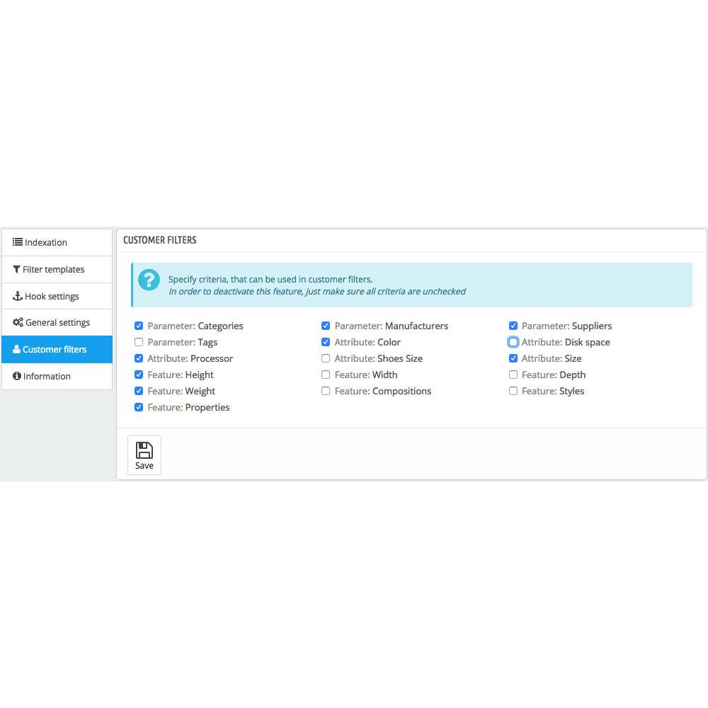 module - Wyszukiwanie & Filtry - Amazzing filter - 7