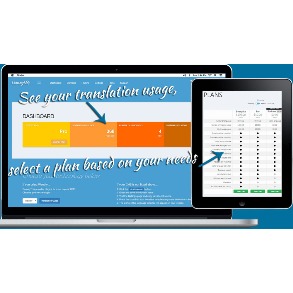 module - International & Localization - ConveyThis Language Translator - 1