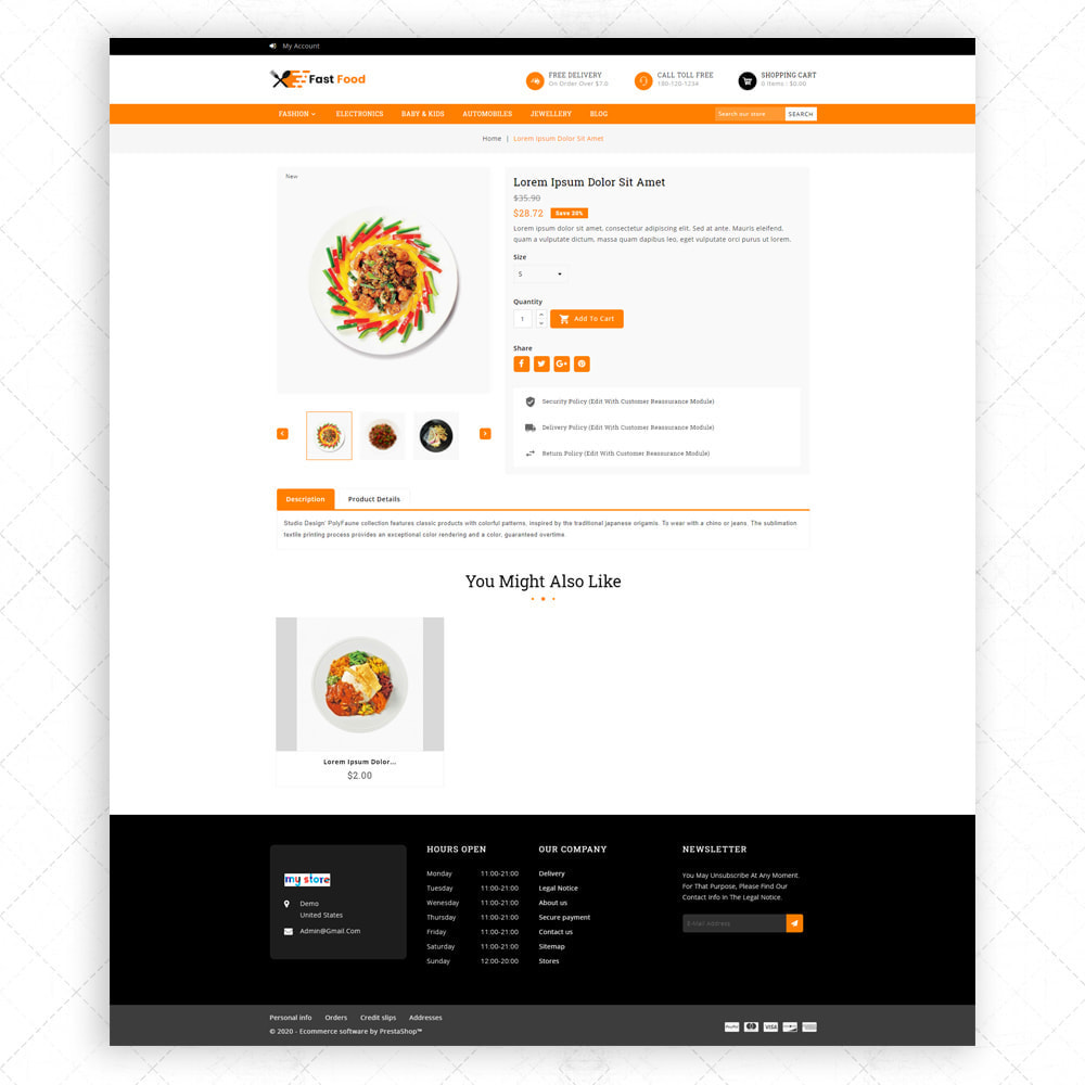 theme - Food & Restaurant - Fast Food - 5