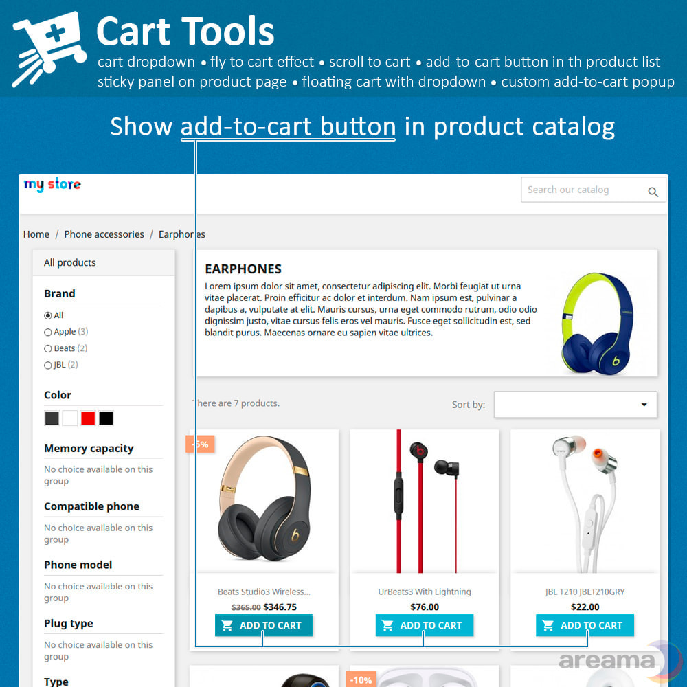 module - Pop-up - Cart Tools - cart dropdown, fly to cart, cart popup... - 4
