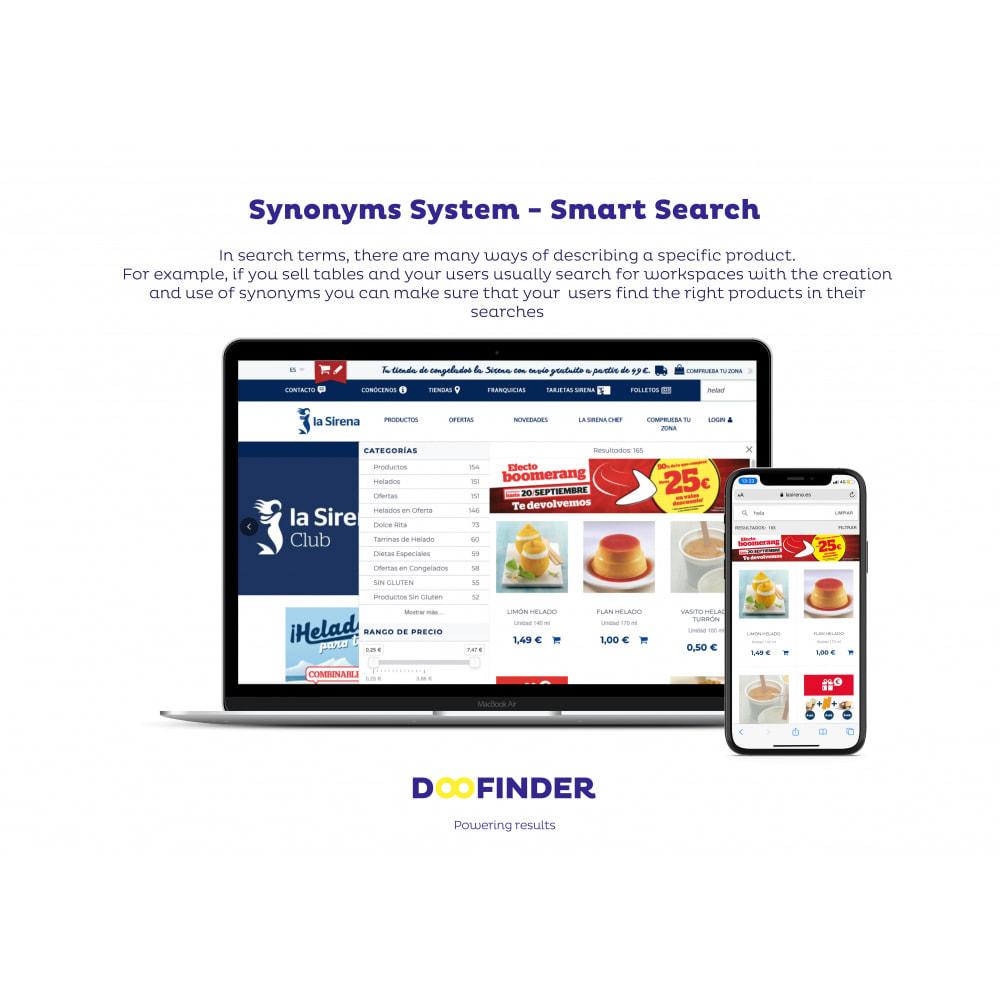 module - Suchen & Filtern - DooFinder On- Site Search - 2