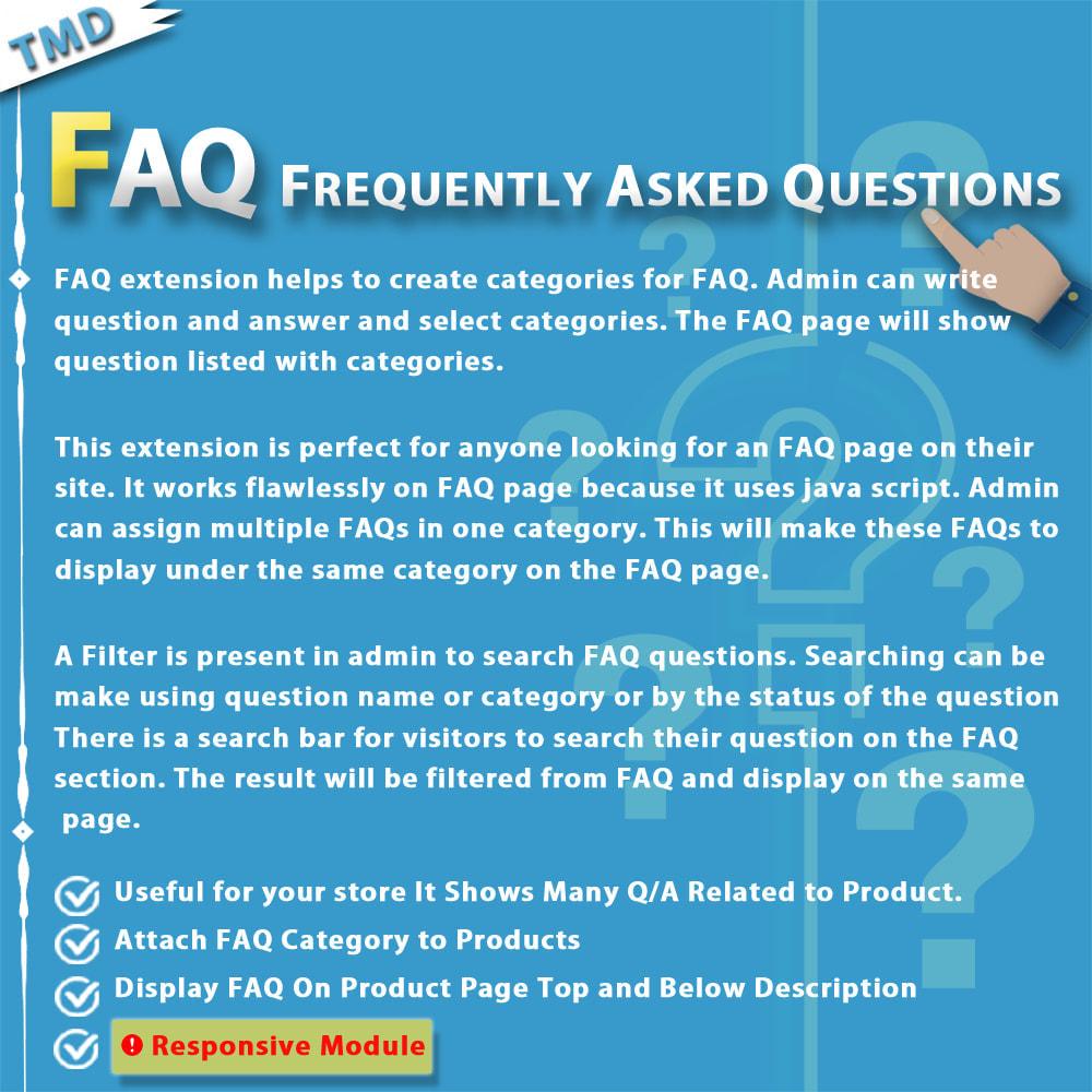 module - FAQ (Frequently Asked Questions) - Advance FAQ Module - 1