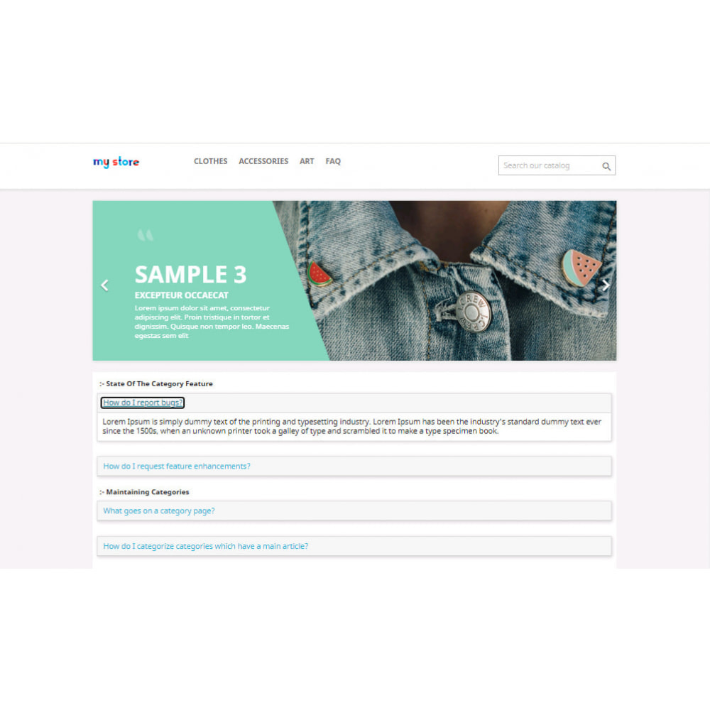 module - FAQ (Frequently Asked Questions) - Advance FAQ Module - 24