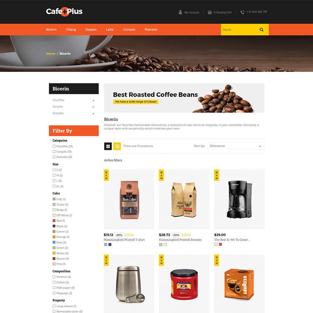 theme - Drink & Tobacco - Cafeplus Coffee - Tea Drink Store - 2