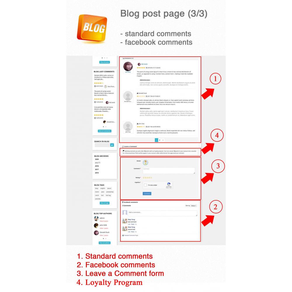 module - Blog, Forum & Actualités - Blog PRO + Programme de fidélité - 7