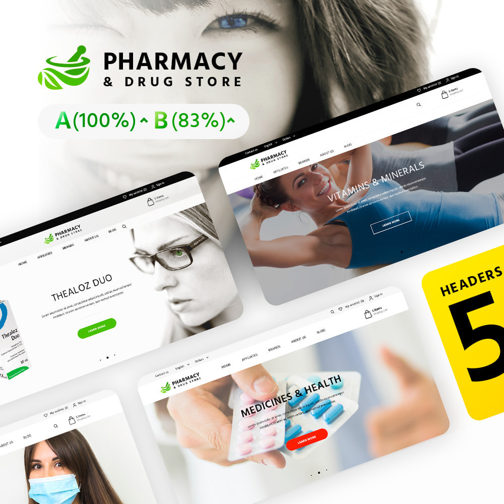theme - Health & Beauty - Pharmacy & Drug Store - 2