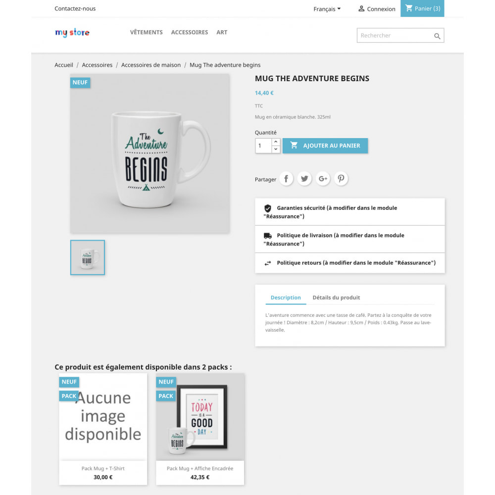 module - Cross-selling & Product Bundles - Show Packs on Product Pages - 3