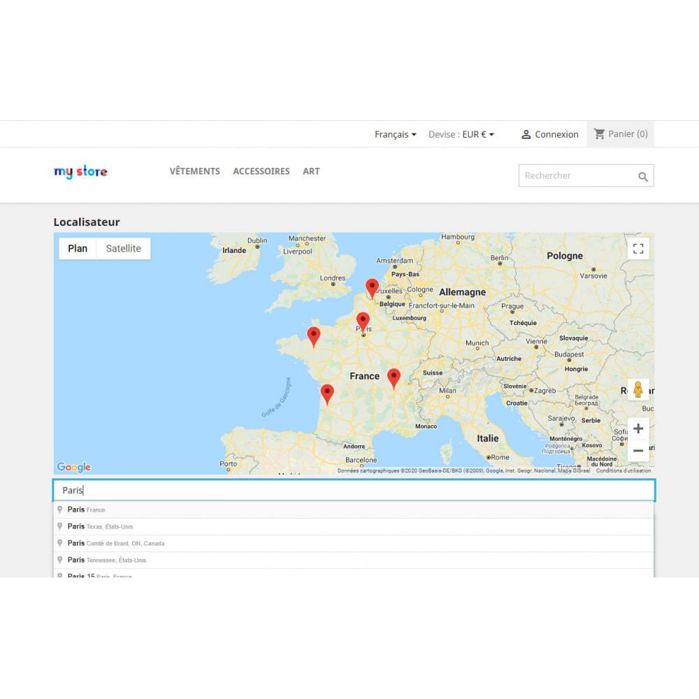 module - International & Localisation - Localisateur de magasins avec Google Maps - 1